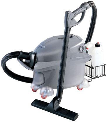 Pulitore a vapore semiprofessionale con funzione aspirante for Pulitore a vapore con aspirazione